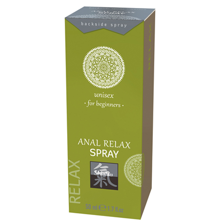 Anal Relax Spray - Voor Beginners